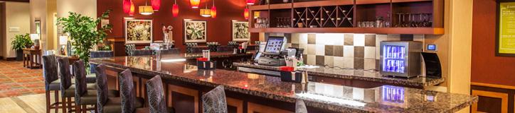 CMS custom hotel bar and lounge