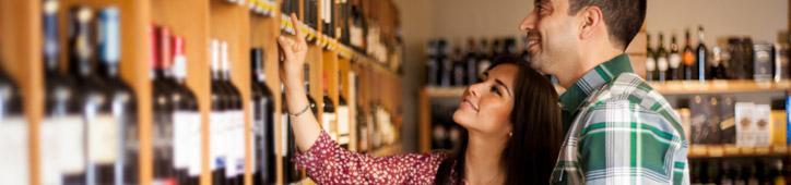 millennials wine shopping