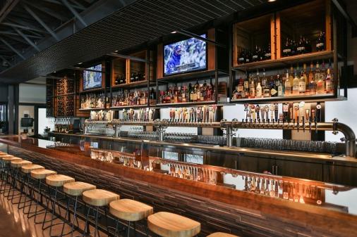copper top bar