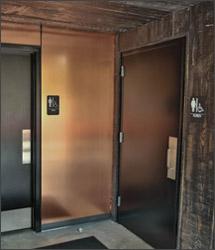 copper wall panels