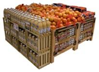 orchard bins - wood crates