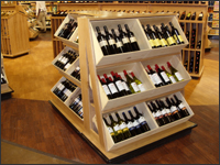 Wine Crate Merchandiser